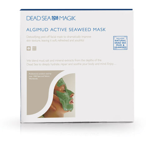 Dead Sea Spa Magik- Cleansing Bar 100g and Algimud Face Mask 25g