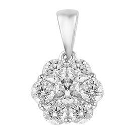 OTO - RHAPSODY 950 Platinum IGI Certified Diamond (Rnd) (VS/E-F) Pendant 1.000 Ct.