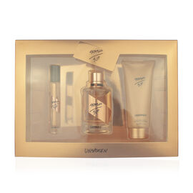 SJP STASH UNSPOKEN Gift Set 100ml EDP, 10ml Rollerball and 100ml Body Lotion Plus free 1.5ml Sample - Estimated delivery within 5-7 working days