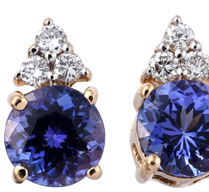 c earrings tanzanite encore studs from dt