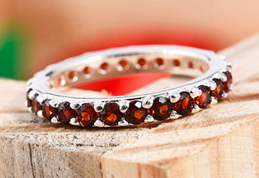 Garnet Jewellery Online in UK