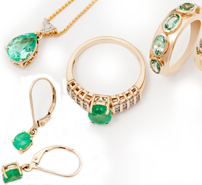 Emerald Jewellery Online in UK