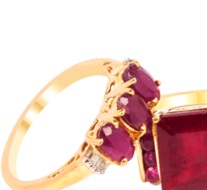 Buy Ruby Rings Online in UK
