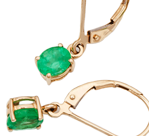 Emerald Earrings Online in UK