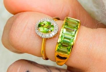 Peridot Jewellery Online in UK