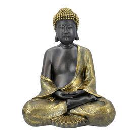 Large Meditating Buddha Statue (Size 31x23x42 Cm) - Gold