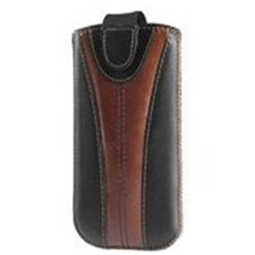 Genuine Leather Chocolate Colour iPhone Mobile Cover