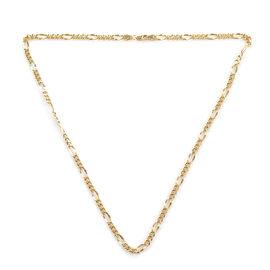 ILIANA Chain Necklace in 18K Gold 8.89 Grams 20 Inch