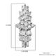 ILIANA 18K White Gold IGI Certified Diamond (Bgt and Rnd) (SI/G-H) Earrings (With Screw Back) 0.500 Ct.