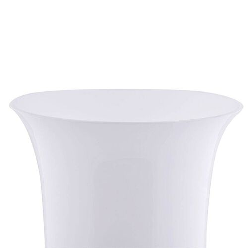 Made In Italy - Authentic Murano Glass Vase - White