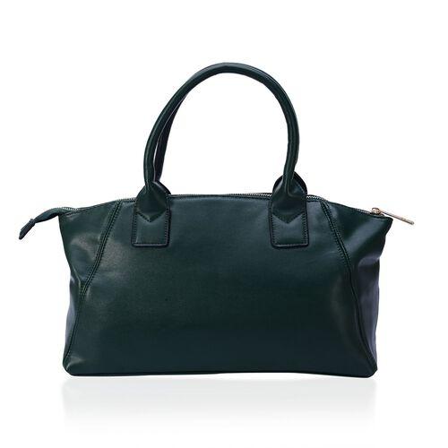 Green Colour Tote Bag (Size 39x24x13 Cm)