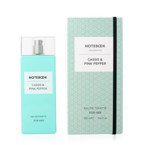 Notebook Fragrances: Cassis & Pink Pepper Eau De Toilette - 100ml