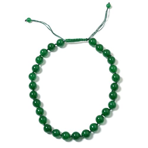 Designer Inspired- Russian Diopside Colour Quartzite  (Rnd) Adjustable Beads Necklace (Size 18 to 24) 524.000 Ct.