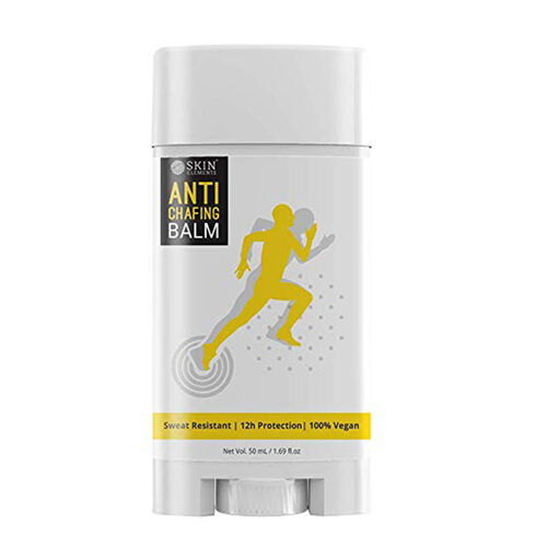 100% Vegan Skin Elements Anti-Chafing Balm for Men and Womens All Types Skin