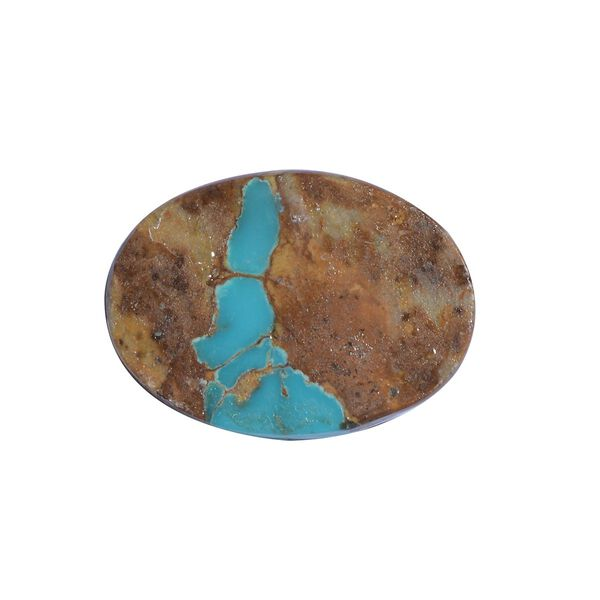 AAA Royston Turquoise Oval 22x16 Cabochon 15.33 Cts