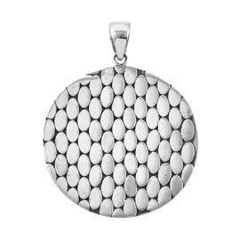 Sterling Silver Pebble Pendant, Silver wt 10.50 Gms.