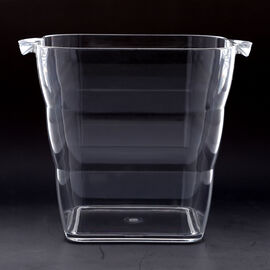 5L Square Ice Bucket (Size:24.5x20.5x20cm)