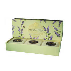 The English Soap Company:  Classic Gift Boxed Soap - English Lavender (3 x 100g)
