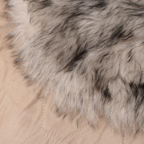 Luxury Edition - Faux Sheep Skin Rug (Size 180x100 Cm) - Black