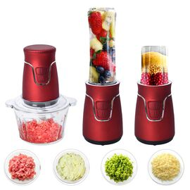 Easy Speedy Blender (600ml Jar, Cross Blade, 2L Glass Bowl & 100ml Grinding Jar)