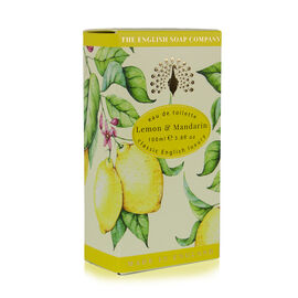 The English Soap Company: Eau De Toilette Spray (Lemon & Mandarin) - 100ml