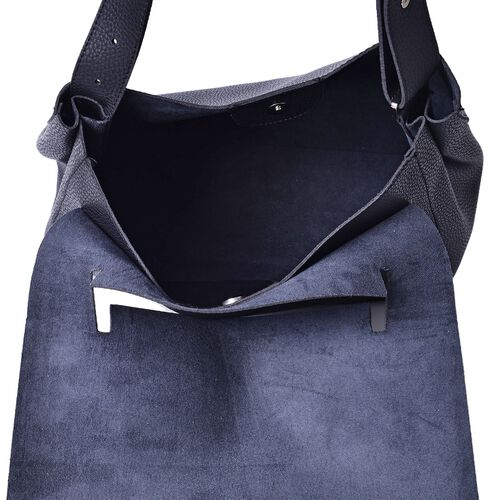 Marley Carryall Black Colour Shoulder Bag with Adjustable Strap (Size 37x31x14 Cm)