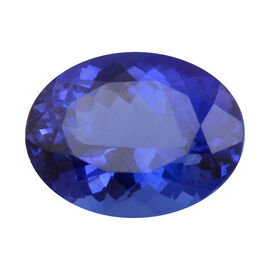 AAAA Tanzanite Oval 11.39X9.11X6.69 Faceted 5.15 Ct.