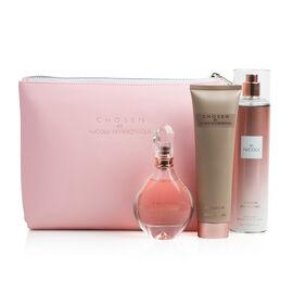 Chosen Gift Set: Incl. (Eau De Parfum - 50ml, Body Lotion - 150ml, Chosen Untouched Body Spray & Cho