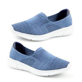 Heavenly Feet Holly Ladies Trainer in Blue