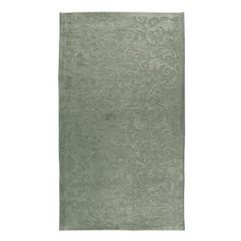 Vivaz Collection - Jaal- Damask Pattern Jacquard Heavy Duty Carpet (Size 75x150 Cm) - Sea Green