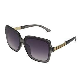 Designer Inspired Fashion Sunglasses - Grey