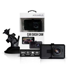 HD Video Car Dash Cam with IR Night Recording and 8GB Memory Card - Black Colour