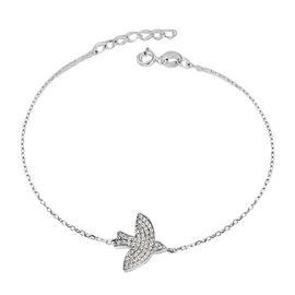 Sterling Silver Bird Bracelet (Size 6.5 with 1 inch Extender)