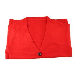Kris Ana V Neck Cardigan One Size (8-16)