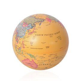 Revolving Globe with LED Light - Yellow