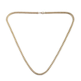 Close Out Deal- 9K Yellow Gold Necklace (Size 20), Gold wt 20.98 Gms