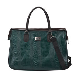 TLV order lifestyle Color Black Crocodile size/Profile Middle travel bag wall (exterior) Semi-PU Lining (interior) polyester