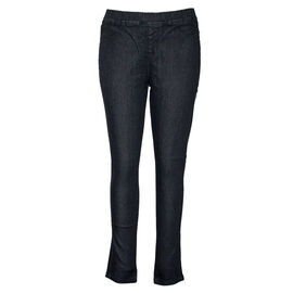 SUGAR CRISP Jeggings with Flower Detail Black