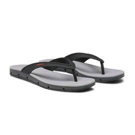 Swims Breeze Men's Flip Flop Sandals in Black and Graphite Colour