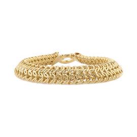JCK Vegas Collection- 9K Yellow Gold Bracelet (Size 8), Gold wt 16.90 Gms