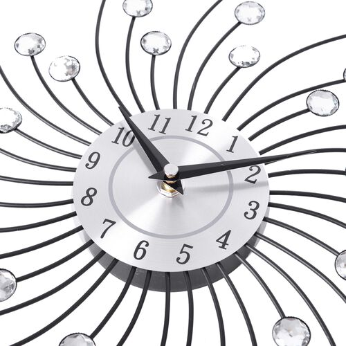 Wall Decor - Swirling Design Clock
