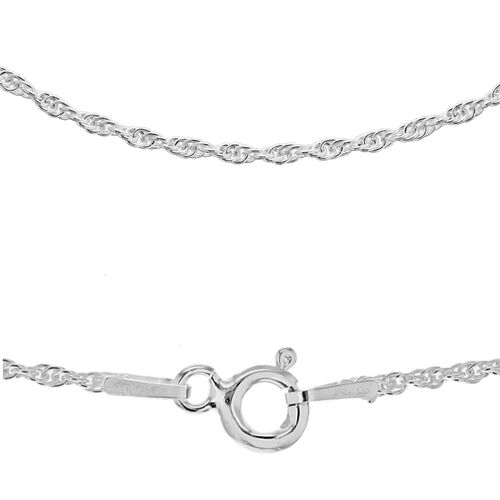 Sterling Silver Prince of Wales Chain (Size 30), Silver wt 4.70 Gms