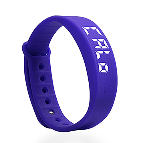 LCD Smart Watch - Purple