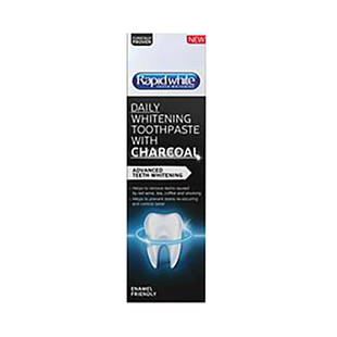Rapid Daily Whitening Toothpaste with Charcoal 75ml