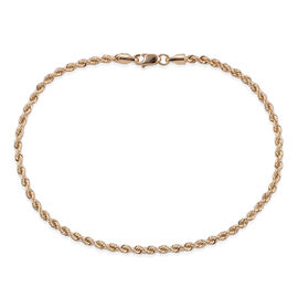 Royal Bali Collection 9K Yellow Gold Rope Bracelet (Size 7.5).