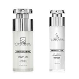 Doctors Formula: Duo - Original Time Reverse Serum - 30ml & Marine Collagen Anti-Ageing Day Moisturi