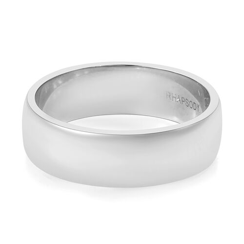 RHAPSODY 950 Platinum Band Ring, Platinum wt 7.02 Gms.