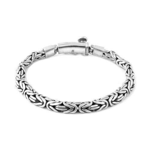 Royal Bali Collection Sterling Silver Bracelet (Size 7.5), Silver wt. 31.80 Gms.