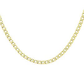 Hatton Garden Close Out Curb Chain in 9K Yellow Gold 9.30 Grams 18 Inch