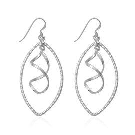 Hook Earrings in Sterling Silver 5.04 Grams